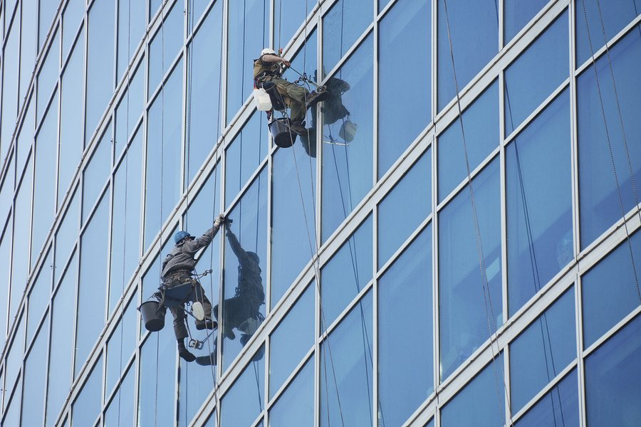 commercial window cleaning services in Sydney