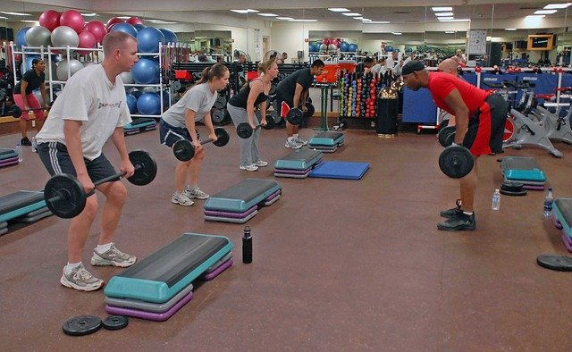 cleaning Fitness Centres